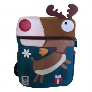 Schulrucksack Rudolph mit der roten Nase