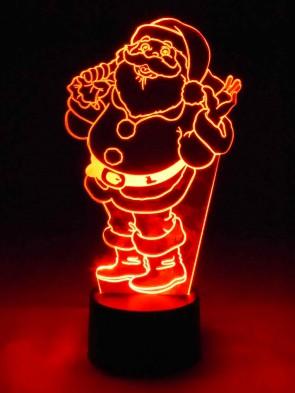 3D Lampe Santa Claus