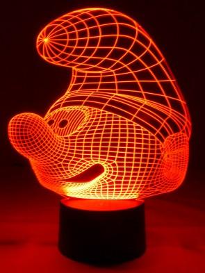 originelle 3D LED-Lampe Kinderlampe  Nachtlampe Kinderleuchte Tischleuchte Tischlampe Mehrfarbenlicht
