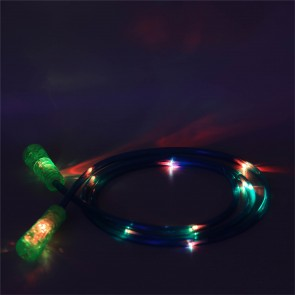 LED Kinder Springseil, leuchtendes und blinkendes LED Seil