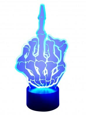 3D Lampe Stinkefinger
