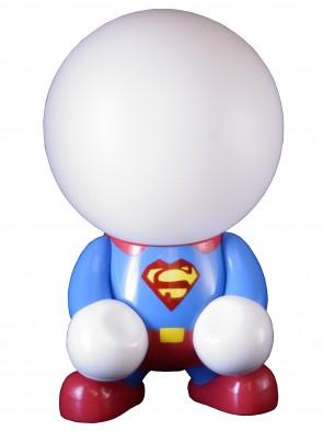 Superheld Nachtlampe Kinderzimmer
