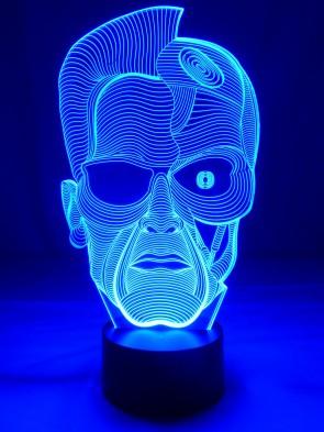 originelle 3D LED-Lampe Mehrfarbenlicht Tischlampe Wohnlicht Tischleuchte Kinderzimmerlampe Nachttischlampe Motivlampe