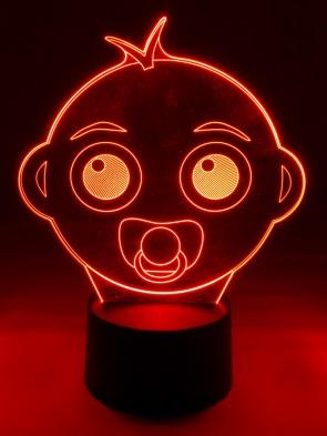 originelle 3D LED-Lampe  Nachttischlampe Tischlampe  Kinderzimmerlampe Nachtlicht Tischleuchte Baby