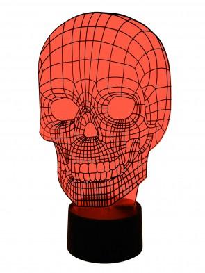 3D Lampe Totenkopf