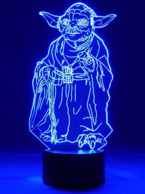 originelle 3D LED-Lampe Science Fiction Wohnlicht für das Kinder-Jugendzimmer Nachttischlampe Tischlampe Tischleuchte