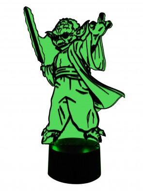 Yoda mit Laserschwert