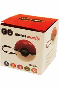 """Bluetooth Akku Lautsprecher """"Go""""  mit Freisprechfunktion, Radioempfang undAnschluß für USB sowie microSD Karte."""