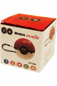 Bluetooth Mini Stereoanlage Go mit Freisprechfunktion Radioempfang microSD Karte