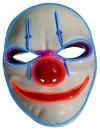 Halloween Leuchtmaske Gesichtsmaske ES böser Clown Killermaske leuchtende blinkende Horror Partymaske