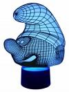 originelle 3D LED-Lampe Kinderlampe Schlumpf Nachtlampe Kinderleuchte Tischleuchte Tischlampe Mehrfarbenlicht