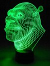 originelle 3D LED-Lampe Comic-Figur Kinder-Leuchte Tischlampe Nachttischlampe Tischleuchte Wohnlicht Kinderzimmer