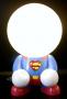 Superheld Superman als LED Lampe für das Kinderzimmer