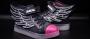 LED Flügel Schuhe Schwarz 36