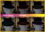 leuchtender Fedora Hut