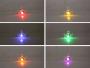 LED-Ohrring Schmetterling