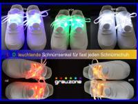 LED Schnnürsenkel Crazy Colours volles Programm